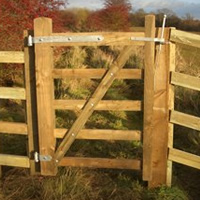 3ft hand gate